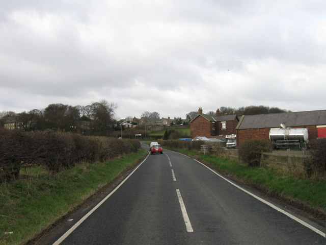 B1325 looking towards Earsdon