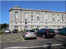 SN5981 : Y Llyfrgell Genedlaethol - the National Library by Eirian Evans