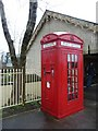 ST6642 : Combined phone and post box by Christine Johnstone