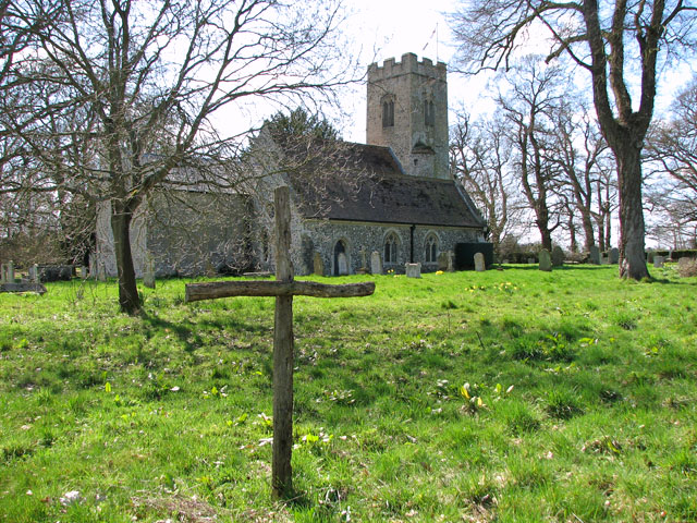 The church of St Mary in Marlingford