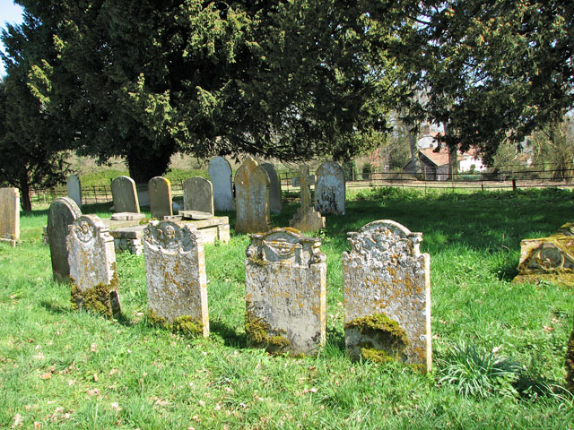 The church of St Mary in Marlingford - churchyard