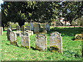 TG1208 : The church of St Mary in Marlingford - churchyard by Evelyn Simak