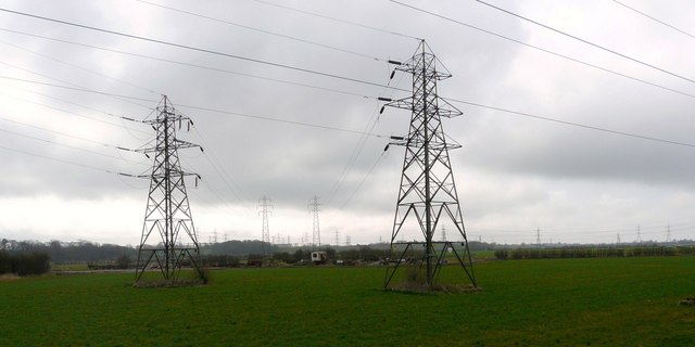 A forest of pylons