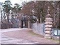 NN8765 : Gateway to Blair Castle by Gordon Hatton