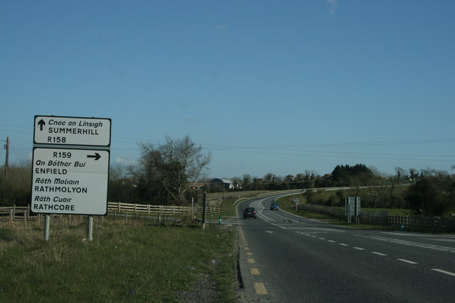 Laracor Crossroads, County Meath