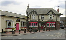 "SD4520 : ""Cock and Bottle"" (Pub) 70 Church Rd Tarleton Preston Lancashire PR4 6UP by Robert Wade"