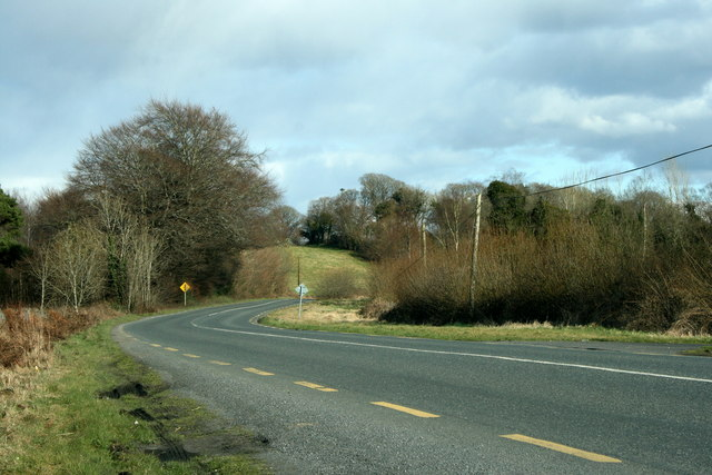 The R194 in County Longford