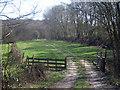TQ5531 : Former Railway Line off Eridge Lane by Oast House Archive
