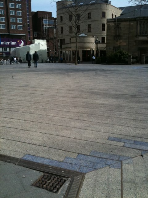 Patches in the Blue Carpet, Newcastle