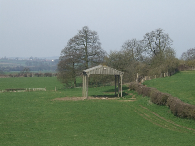 Barn near Hillfield Plantation