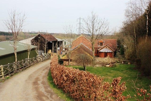 Entrance to Gravel Hole Farm