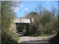 TQ5532 : Disused Railway Bridge by Oast House Archive