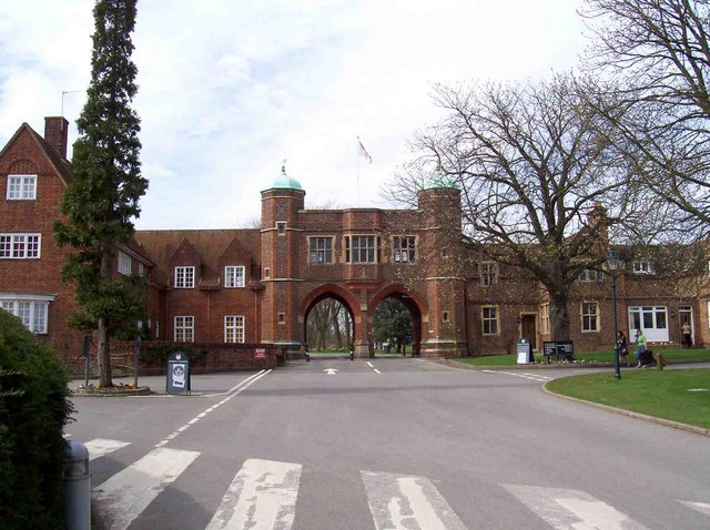 Entrance arches, Radley College