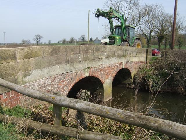 River Blithe bridge at Field