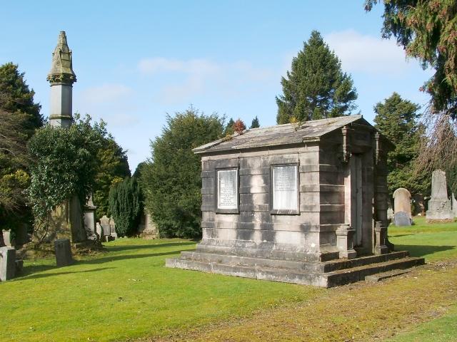 The Denny family mausoleum
