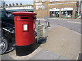 SY6990 : Dorchester: postbox № DT1 404, Trinity Street by Chris Downer