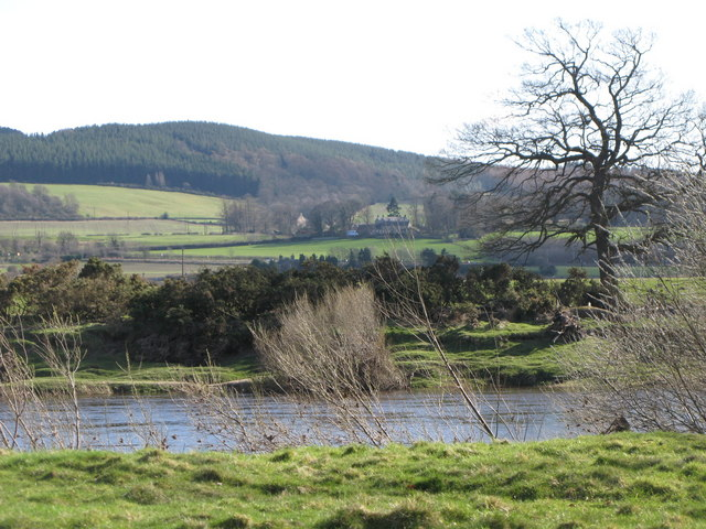 The River Tyne near Corbridge Mill