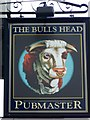 SD4981 : Sign for the Bulls Head by Maigheach-gheal