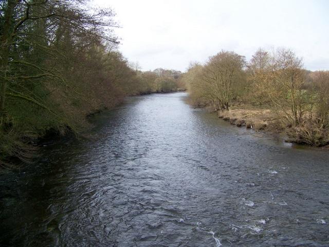 River Leven near Haverthwaite