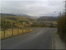 SK0395 : Cemetery Road/Woodhead Road, Glossop by Benjamin Hopkins