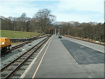 SH5848 : Beddgelert station on the Welsh Highland Railway by Raymond Knapman