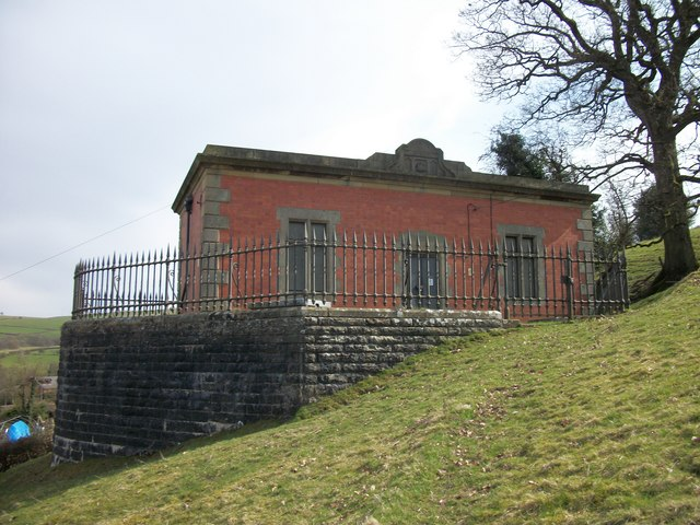 Valve House on The Elan Valley Aqueduct