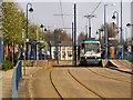 SJ7998 : Weaste Tram Station by David Dixon