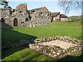 TM4599 : St Olave's Priory in St Olaves by Evelyn Simak