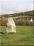 SN0038 : Standing Stone at Dinas Cross by Richard Law