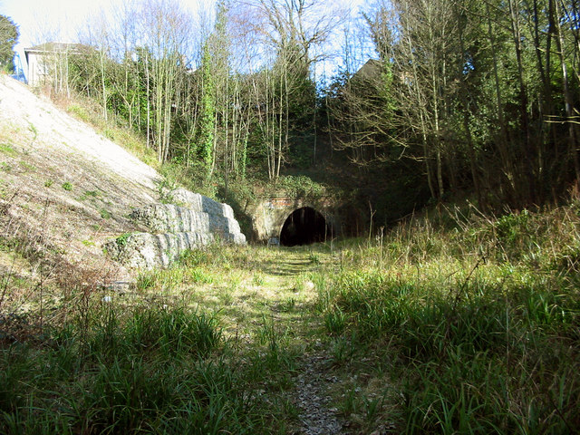 Disused railway tunnel at Tunbridge Wells West