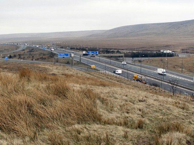 M62 Rocking Stones Junction 22
