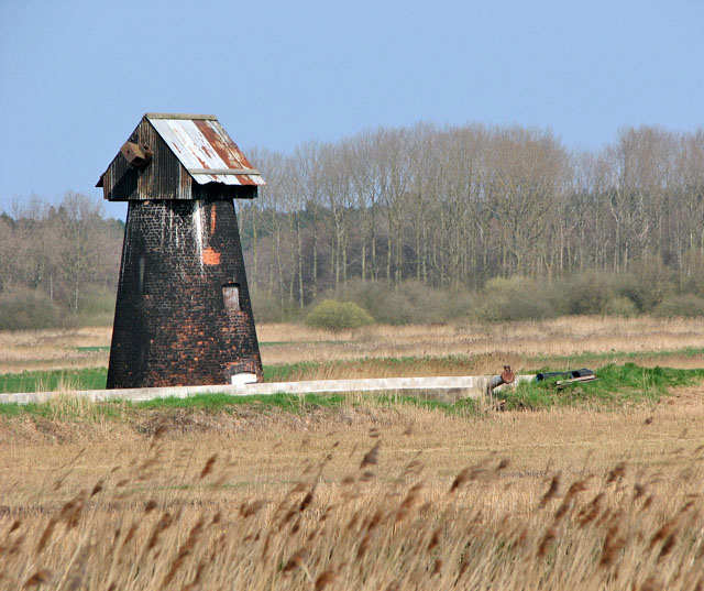 Fritton Marshes drainage mill