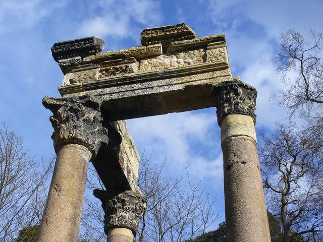 Corinthian Columns, Virginia Water