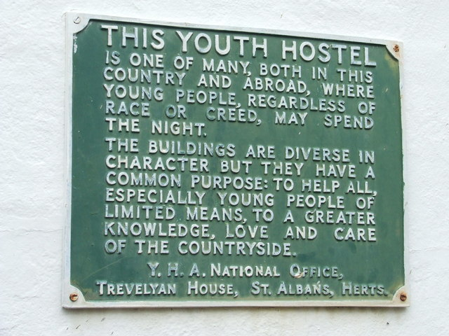 Youth Hostel Plaque