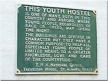 TL7835 : Youth Hostel Plaque by Keith Evans