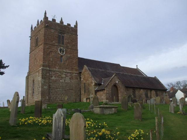 Church of St Mary the Virgin, High Offley