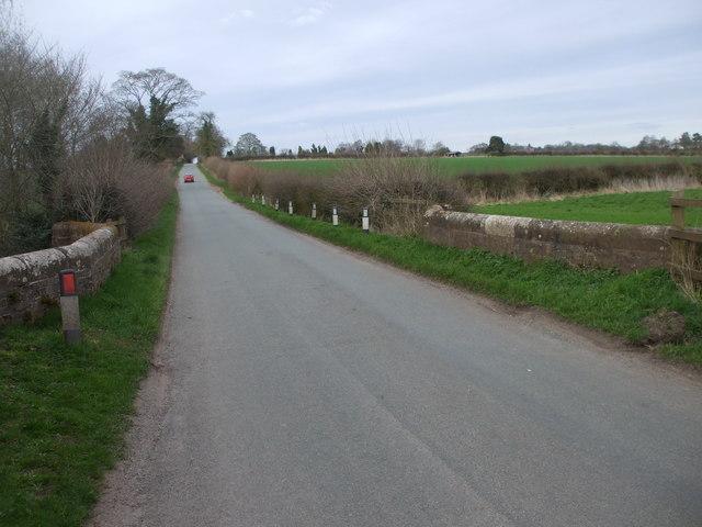 Bridge on the road between Adbaston and Shebdon