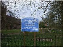 SJ7627 : The churchyard, Adbaston by John Lord