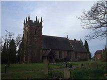 SJ7627 : Church of St Michael & All Angels, Adbaston by John Lord