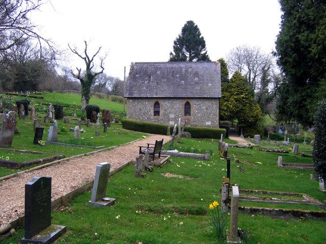 Cemetery near Charmouth