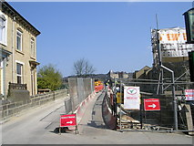 SE1039 : Repair work on Ireland Street Bridge - Harden Road by Betty Longbottom