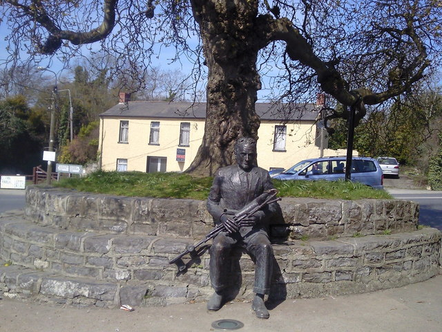 Seamus Ennis Statue, The Naul, Co Dublin