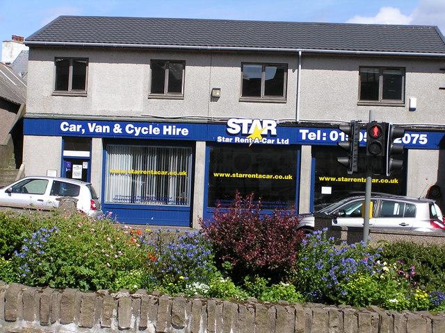 Star Rent-A-Car Ltd, Commercial Road