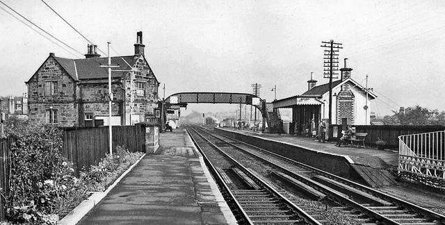 Bishopbriggs Station by Ben Brooksbank
