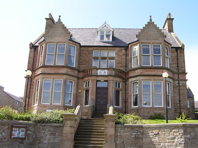Islesburgh House, King Harald Street