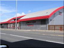 HU4642 : Lerwick Ferry Terminal, Holmsgarth Road by Robbie