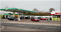 J3774 : Petrol station, Ballyhackamore, Belfast by Albert Bridge
