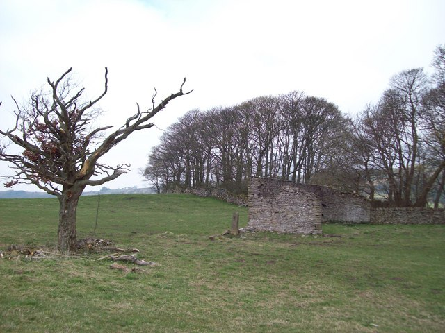 Abandoned Outbuilding near Eyam View Farm