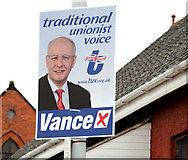 J3673 : Election posters, East Belfast 2010-2 by Albert Bridge