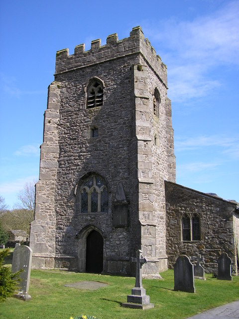 St Oswald's Church Tower, Horton in Ribblesdale